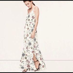 LOFT Wallpaper Maxi Dress